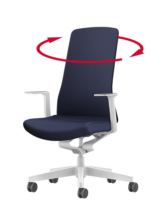 Vi forhandler kontorstoler fra Interstuhl, Savo og Scan Sørlie
