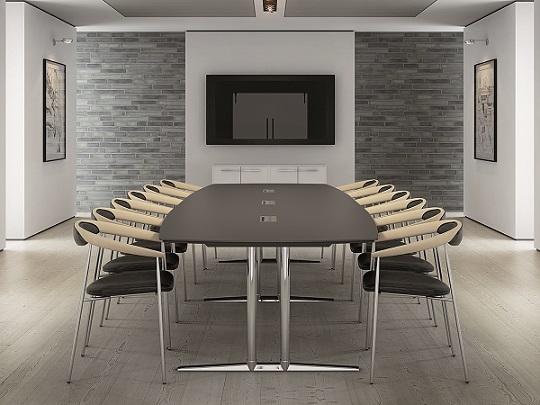 Vi forhandler Fumac kontormøbler og møteromsmøbler