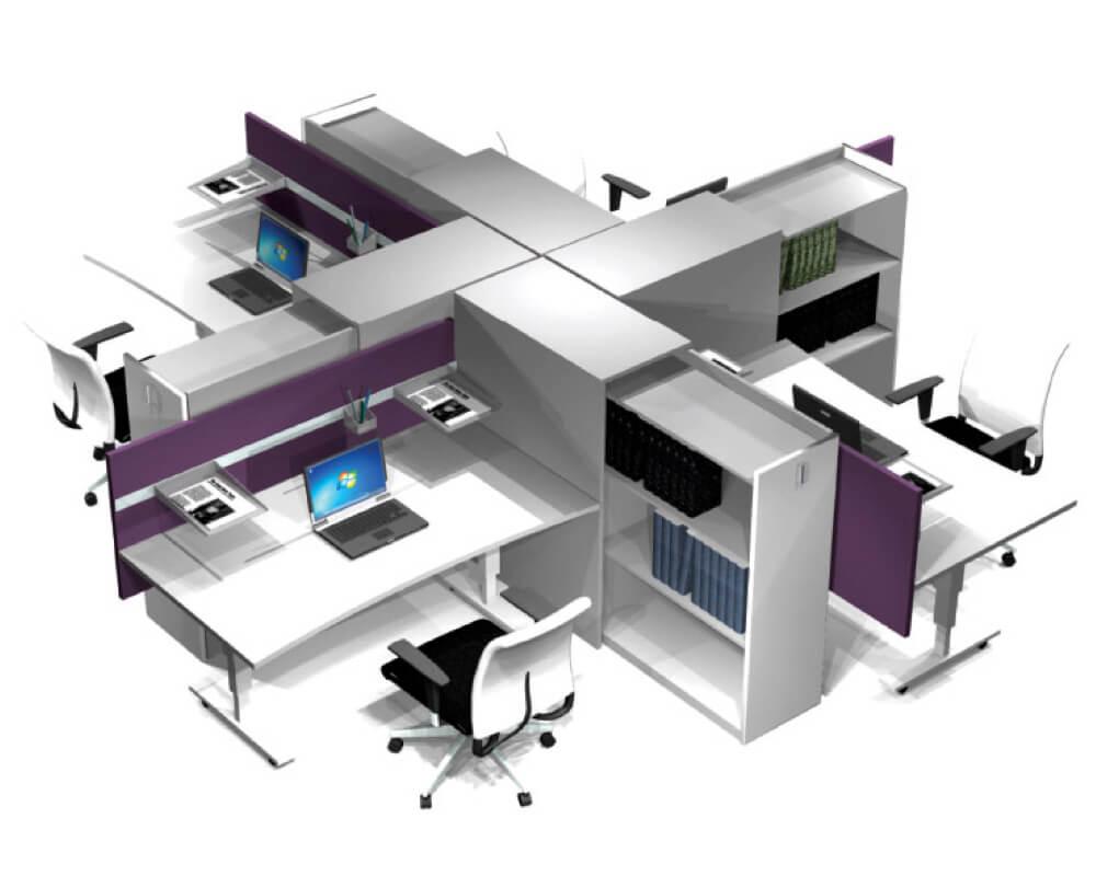 Vi leverer kontormøbler fra fumac scan sørlie og sarpsborg metallindustri
