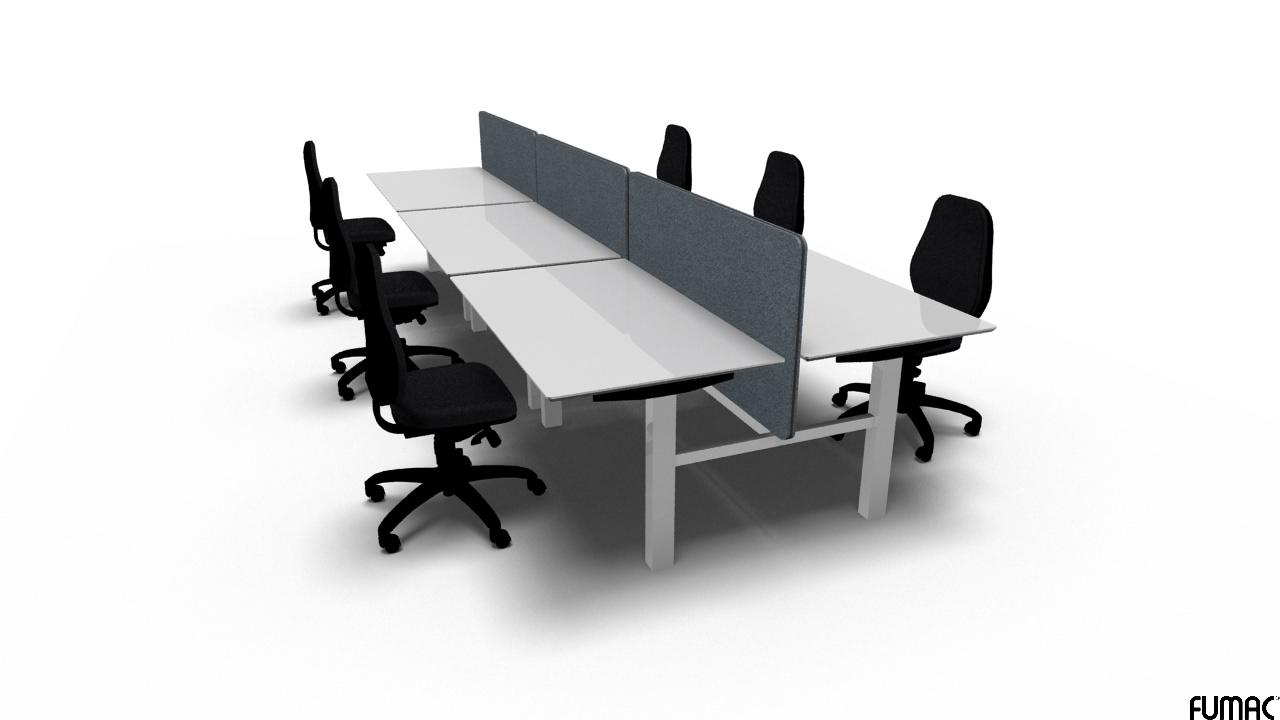 Callsenter bør har hev og senk bord