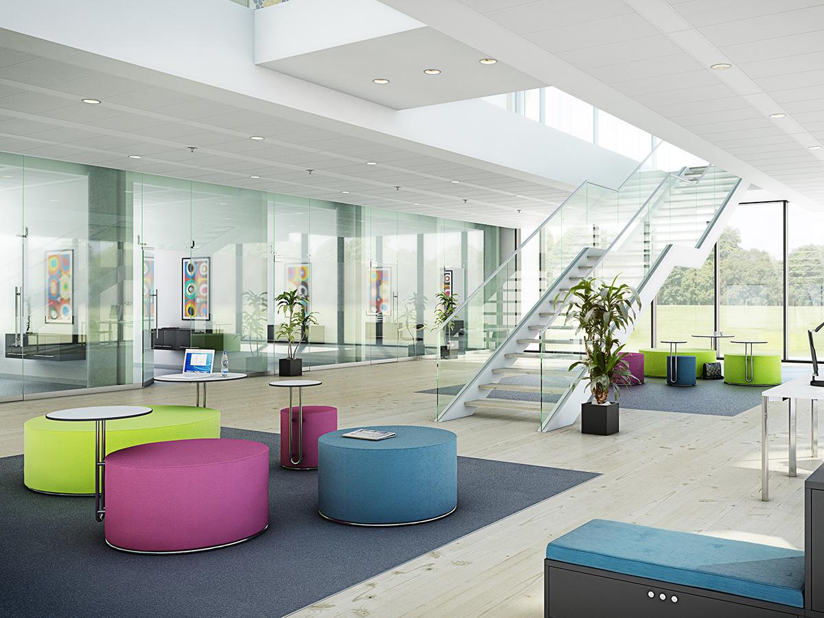 Vi forhandler loungemøbler fra Fumac og Interstuhl