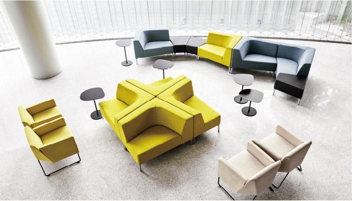 Loungsmøbler fra Interstuhl